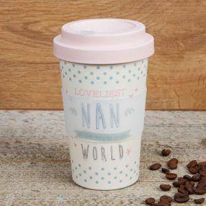 Loveliest Nan Bamboo Travel Mug