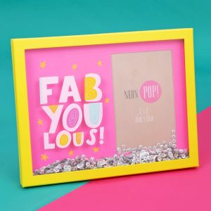 Fabyoulous Sequin Pink Frame