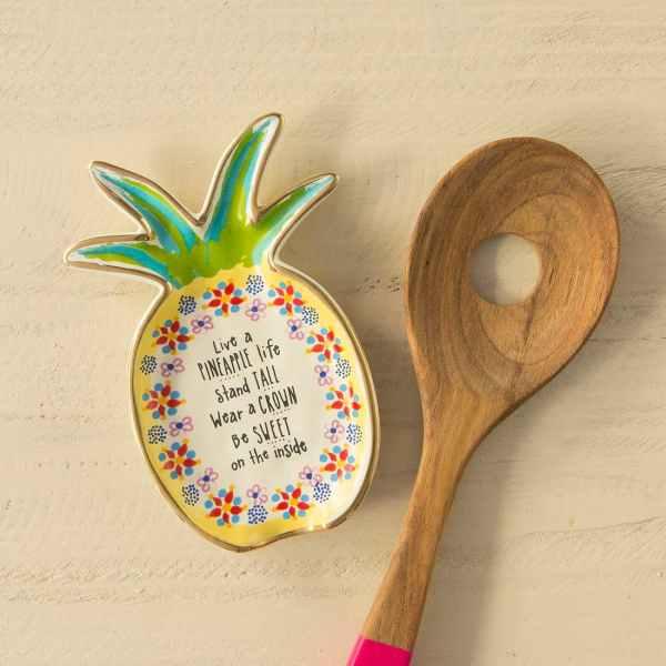 Live a Pineapple Life Trinket Dish