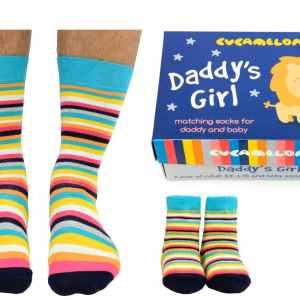 Daddys Girl Matching Socks Gift Set