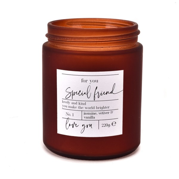 Moments Luxury Special Friend Candle