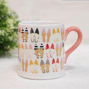 Shoe Pattern Luxury Mug