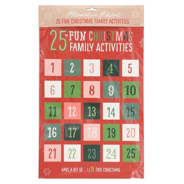 Family Activities Christmas Advent Calendar