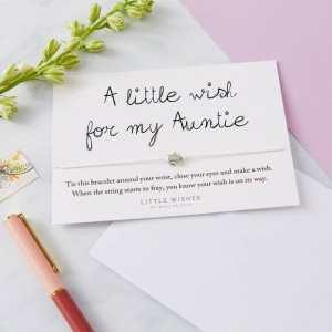 Auntie Wish Bracelet Card