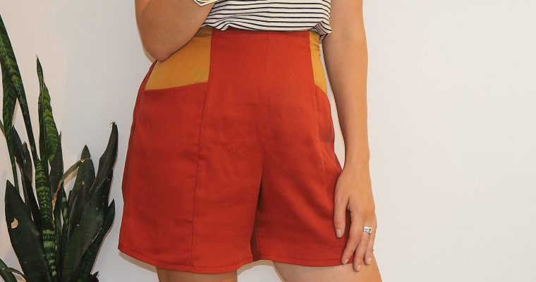 Sewing – The Pietra Shorts