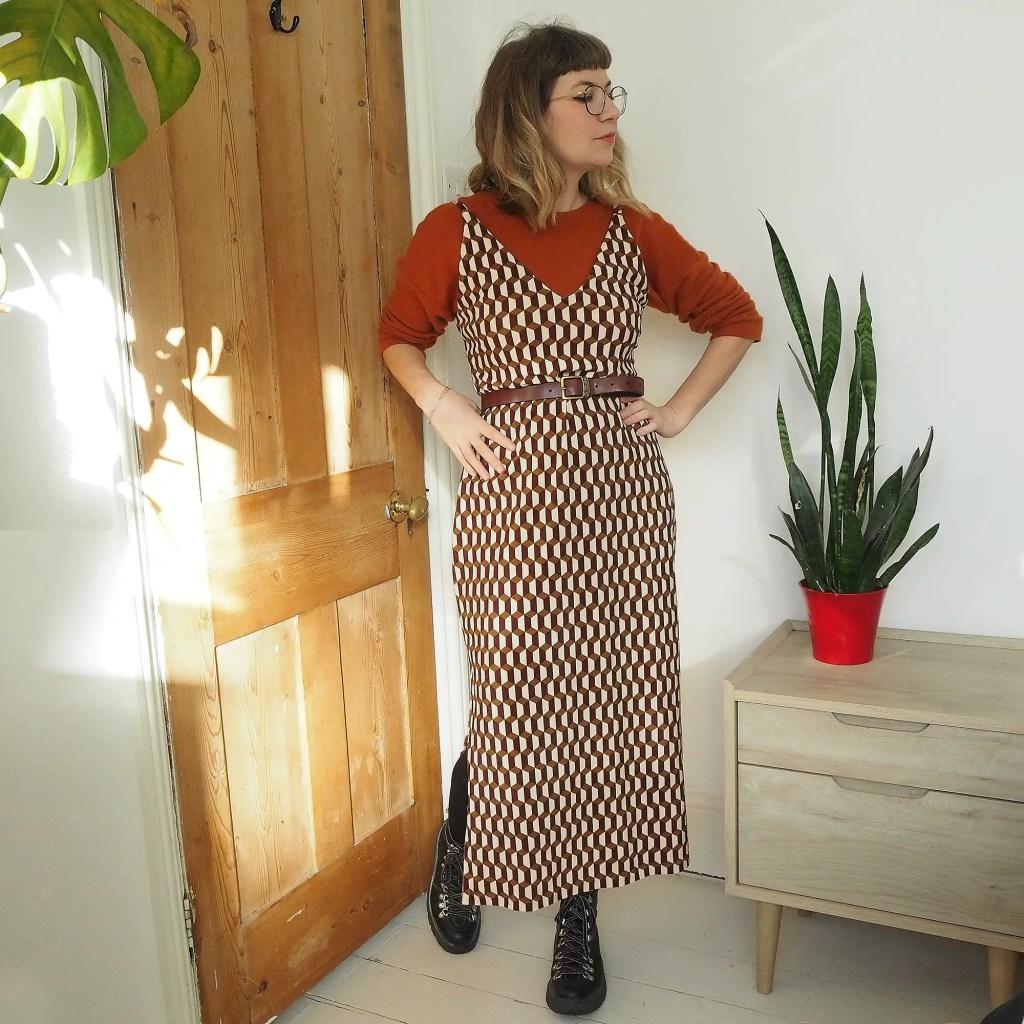 tammy handmade leona dress pattern review