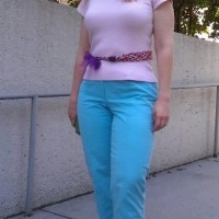 Monday Mingle: Pastel Color-Block
