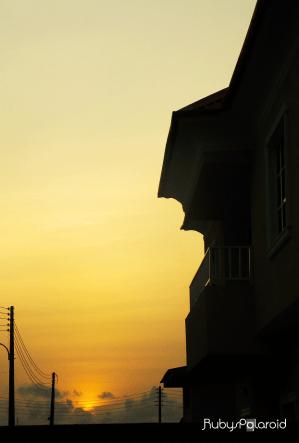 dusk by rubys polaroid