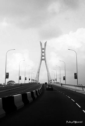 Ikoyi link bridge by rubys polaroid