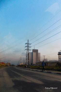 Dawn in lekki by rubys polaroid