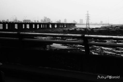 Third Mainland Bridge shot from Yaba Access Link by rubys polaroid