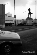 Dancing Sculpture at Toll Gate Lagos by rubys polaroid