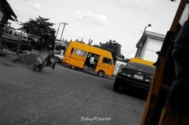 Street Tilt 3 - Yellow Bus by rubys polaroid