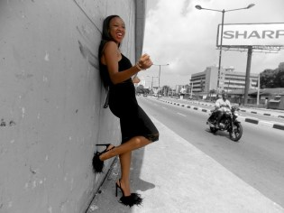 Black on black 5 by rubys polaroid