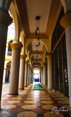 Central Mosque Grand Atrium 2 by rubys polaroid