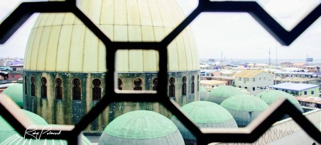 Lagos Central Mosque Roof top