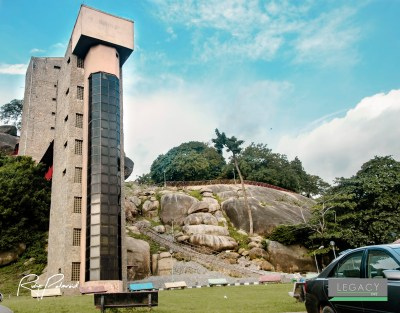 Olumo Rock Tower by rubys polaroid