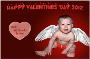 Cupid Noah for Valentines Day