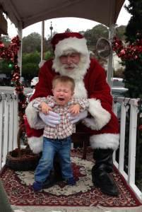 Noah & Santa 2012