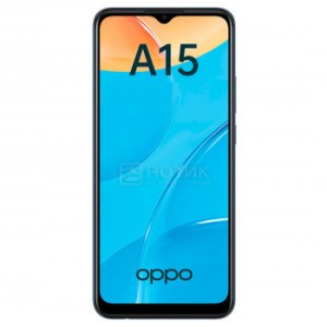 """Смартфон OPPO A15 2/32Gb Black (Android 10.0/MT6765 2300MHz/6.52"""" 1600x720/2048Mb/32Gb/4G LTE ) [6944284675445]"""