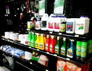 Garden Supplies - herbicides