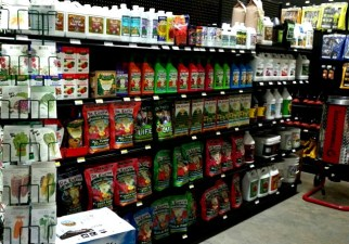 Garden Supplies - seeds and fertilizers