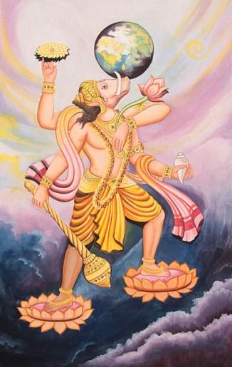 Lord Vishnu as Varaha Avatar