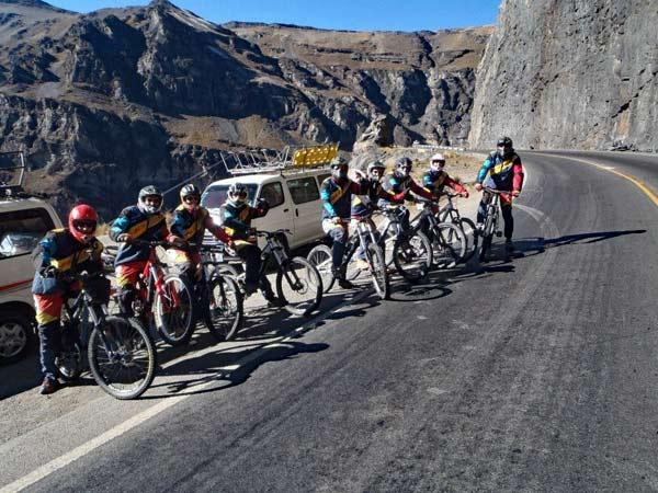 Start Death Road Bolivien