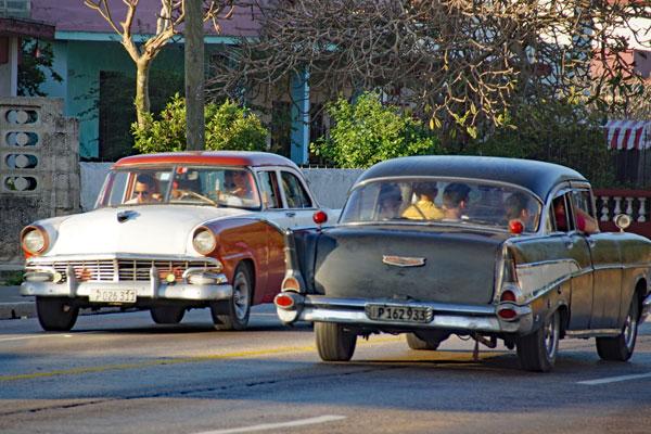 Straßenbild Kuba