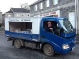 The Milkman still cometh in Ireland. Slane, Ir.