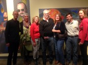 Labadian friends supporting dear friend and talented photography artist Tony Carosella at his opening night.