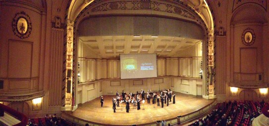 Being treated to a wonderful night out to the St. Louis Symphony by the bestest friend..Mozart and amazing seats!