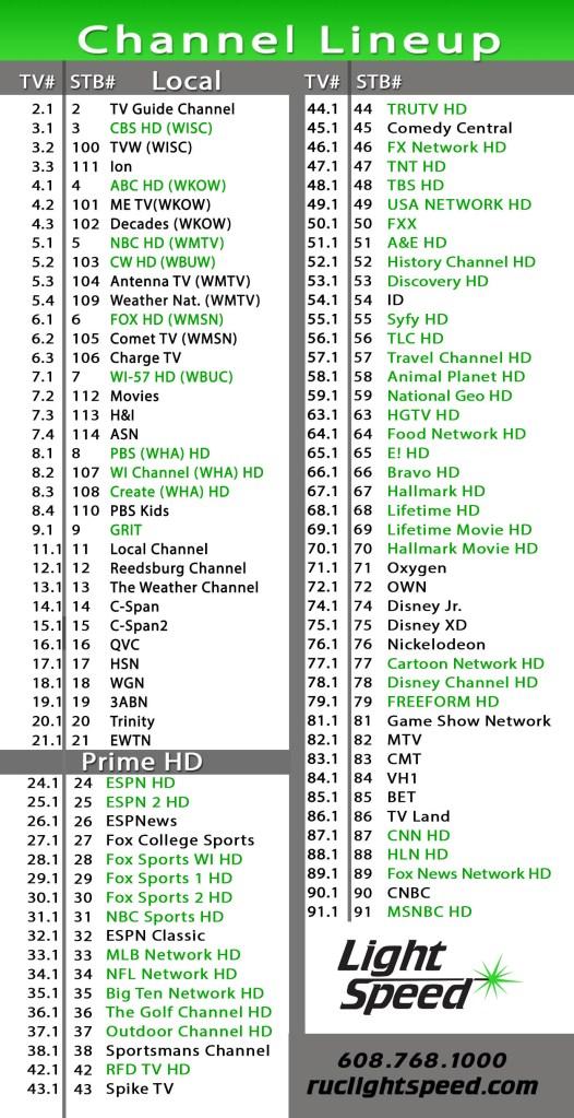 Prime HD TV -