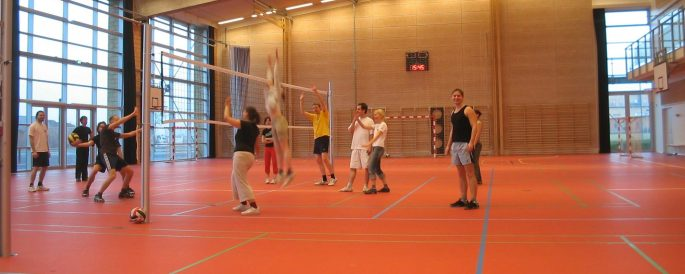 Volleyball at Trekronerhallen