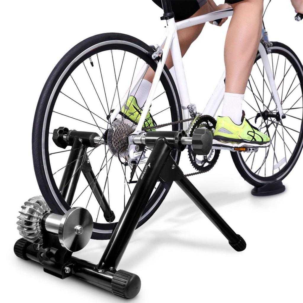 Ehersisyo bike na may generator.