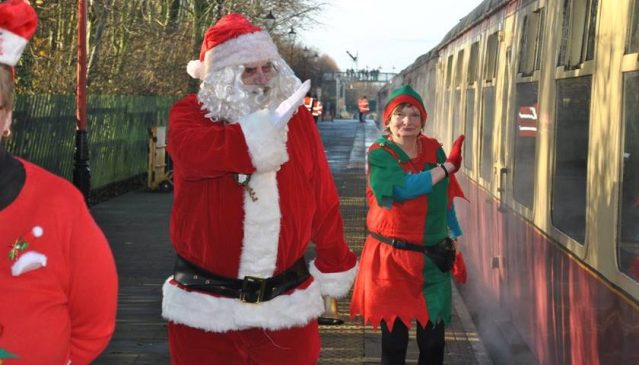 Santa Steam Train Specials at GCRN @ Nottingham Heritage Centre | Ruddington | England | United Kingdom