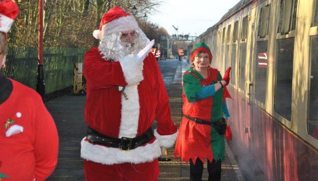 Santa Steam Train Specials at GCRN @ Nottingham Heritage Centre   Ruddington   England   United Kingdom