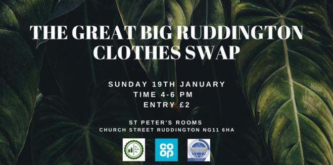 Great Big Ruddington Clothes Swap @ St Peter's Rooms | Ruddington | England | United Kingdom