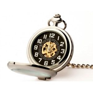 ELEGANCJA W SREBRZE – zegarek kieszonkowy