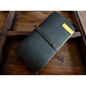 Notes Vintage – Duży / ciemna czekolada