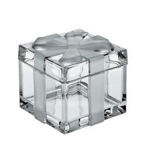 Kryształowa szkatułka w kształcie prezentu – duża