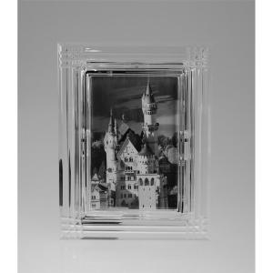 Kryształowa ramka na zdjęcia.