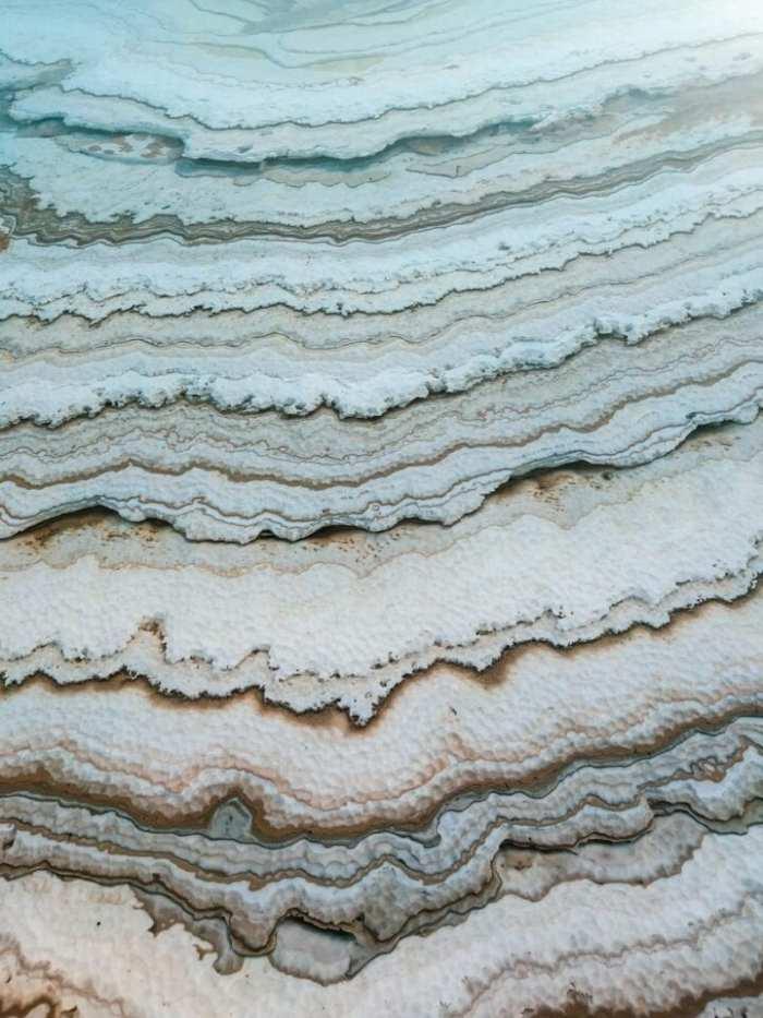 formacje solne morze martwe