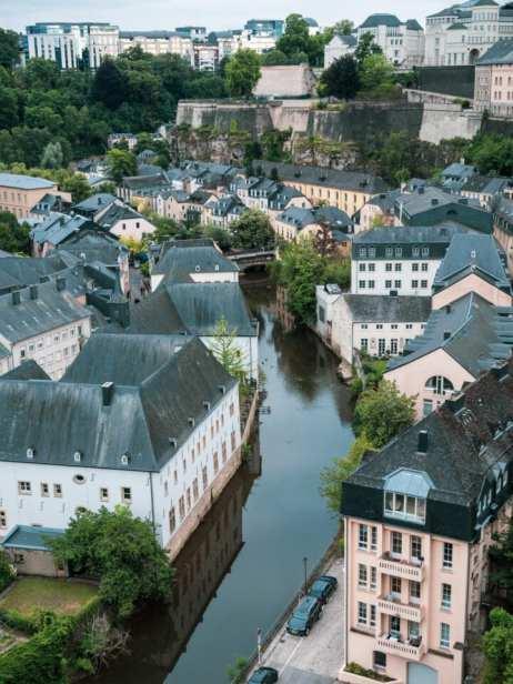 luksemburg stare miasto