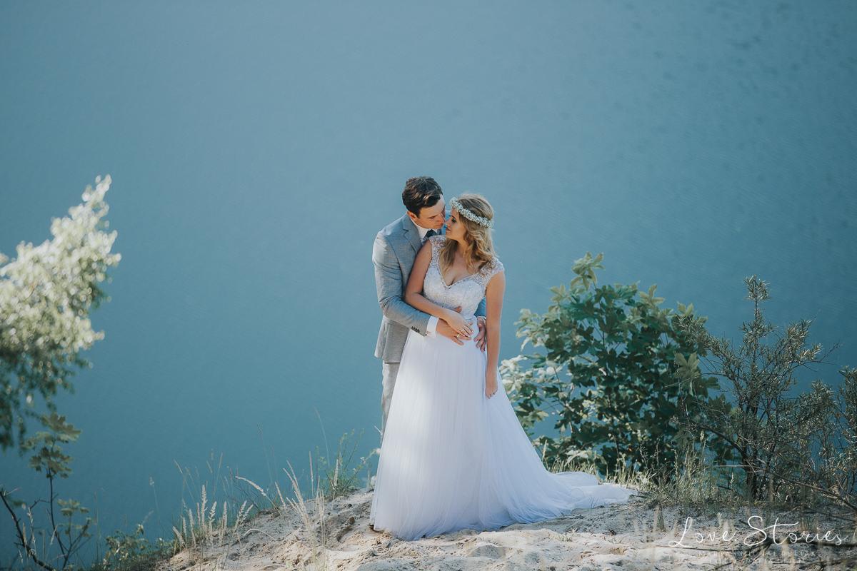 sesja ślubna nad morzem LOVE.STORIES fotograf ślubny
