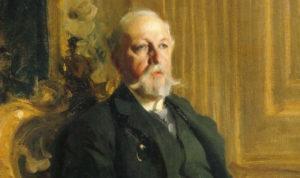 Darstellung König Oscar II. von Schweden durch Anders Zorn aus dem Jahr 1898