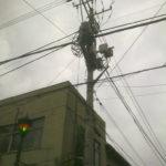 Oberleitungen in Tokyo