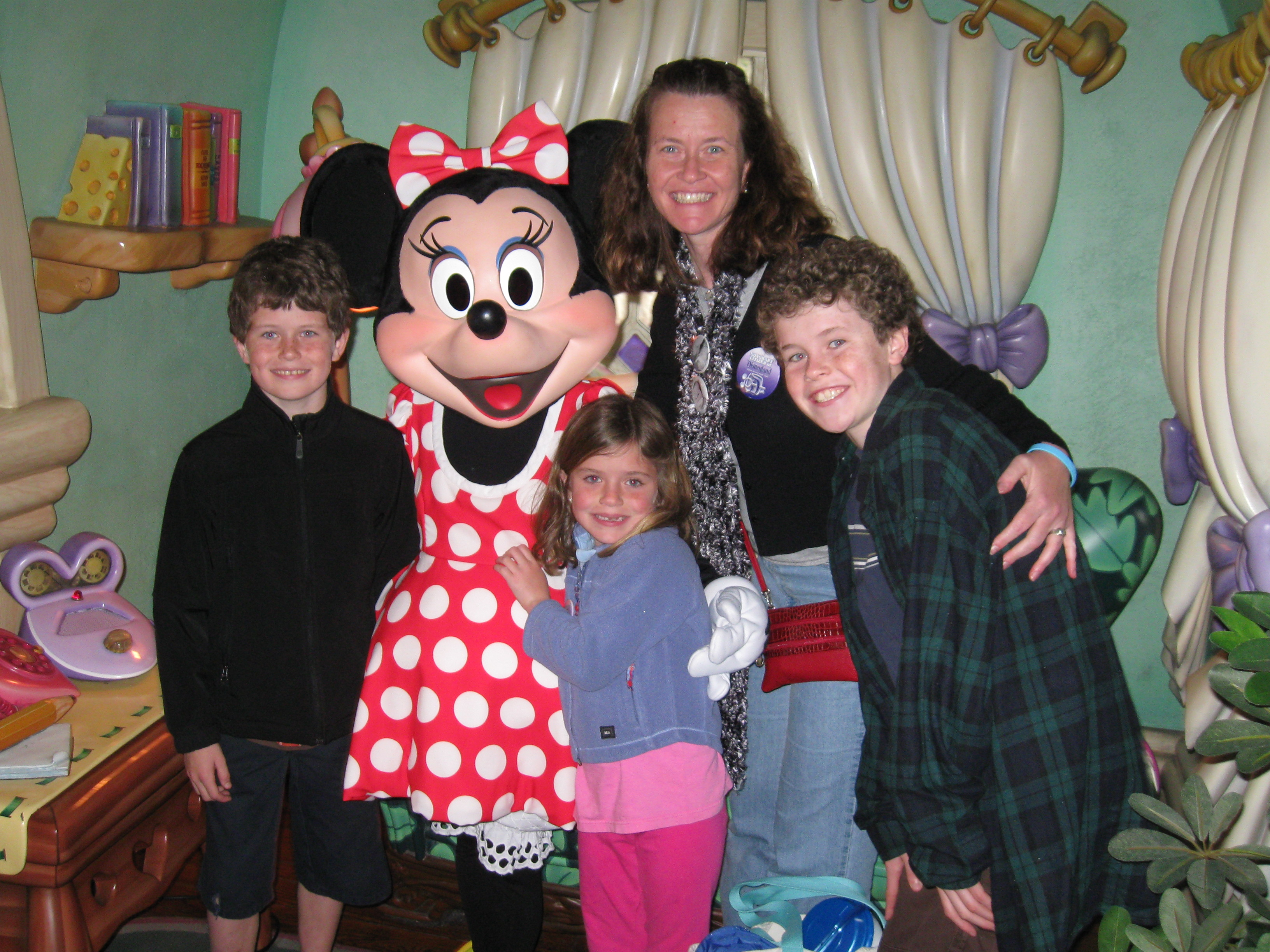 "A ""meet and greet"" with Minnie"