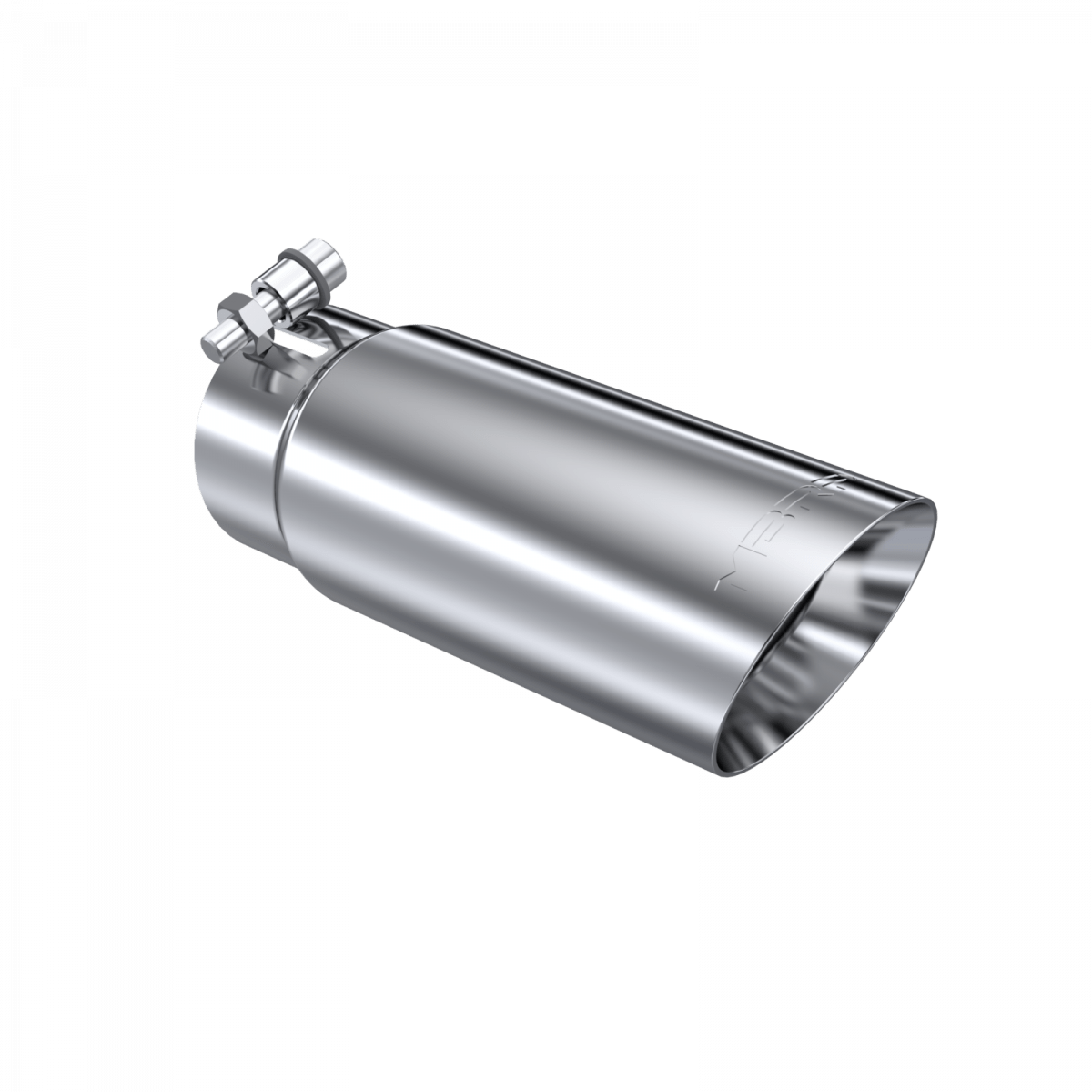 mbrp exhaust tip 3 1 2 inch o d dual wall angled end 3 inch inlet 10 inch length t304 stainless steel t5114