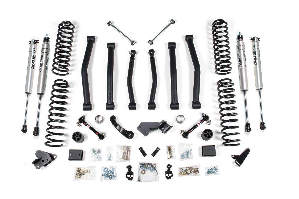 Bds 4 Lift Kit With Nx2 Shocks For 12 17 Jeep Wrangler Jk